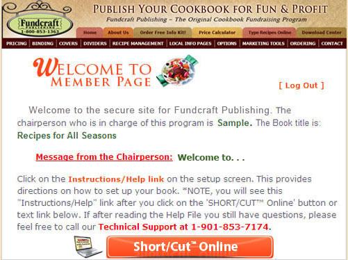 short cut online fundcraft publishing