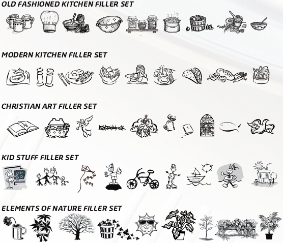 Art Filler Set - by Fundcraft Publishing