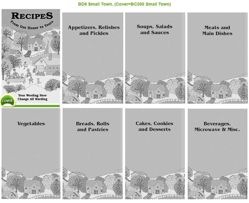 Dividers for Cookbooks