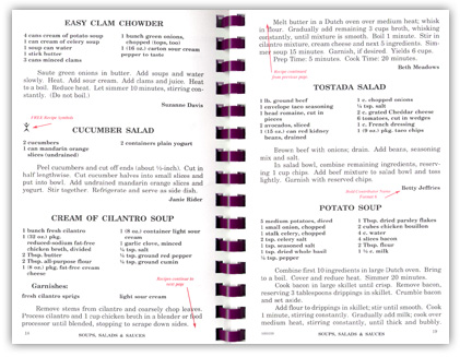 example of Inside Pages to Cookbook