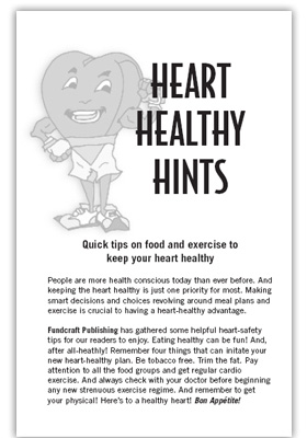1 healthy heart tips