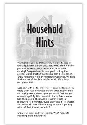 1 house hold hints